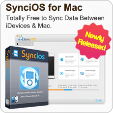Free Syncios Manager for Mac
